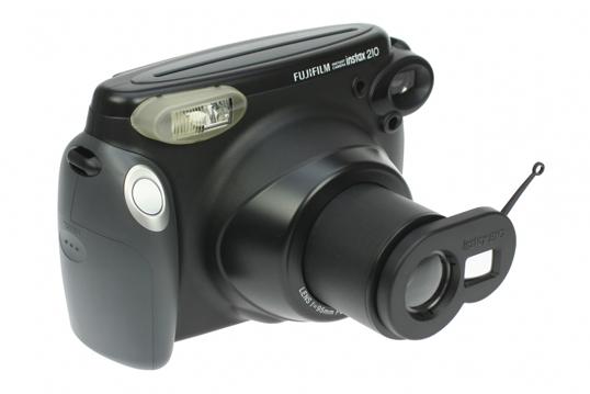 Фотоаппарат Fujifilm Instax 210 c макро-линзой