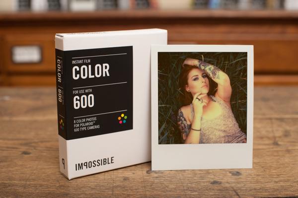 Кассета для полароида цветная