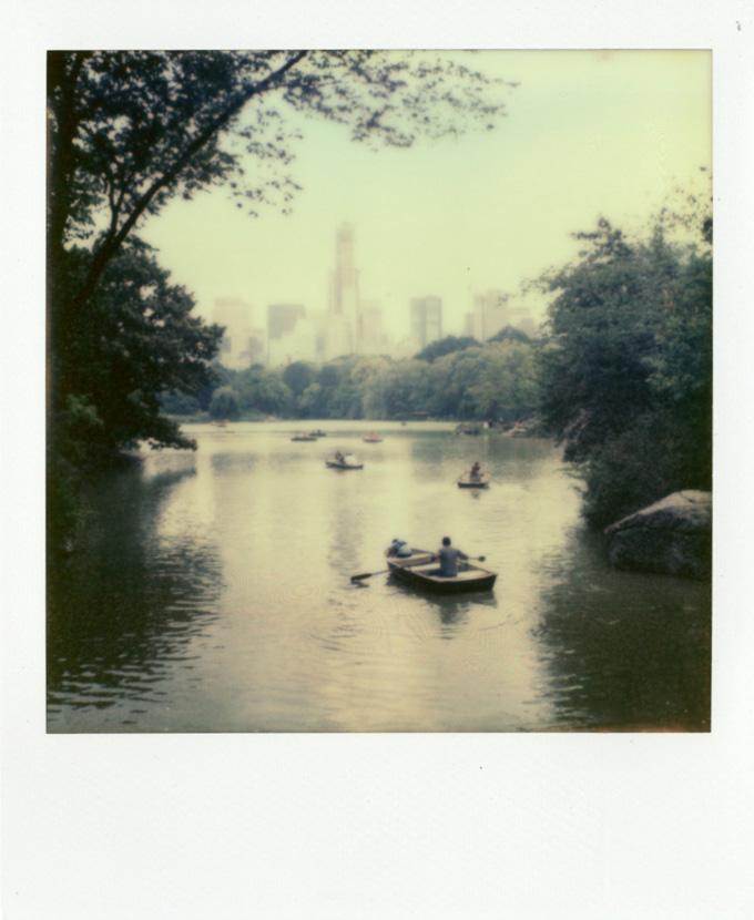Polaroid image by Andrew Jarman