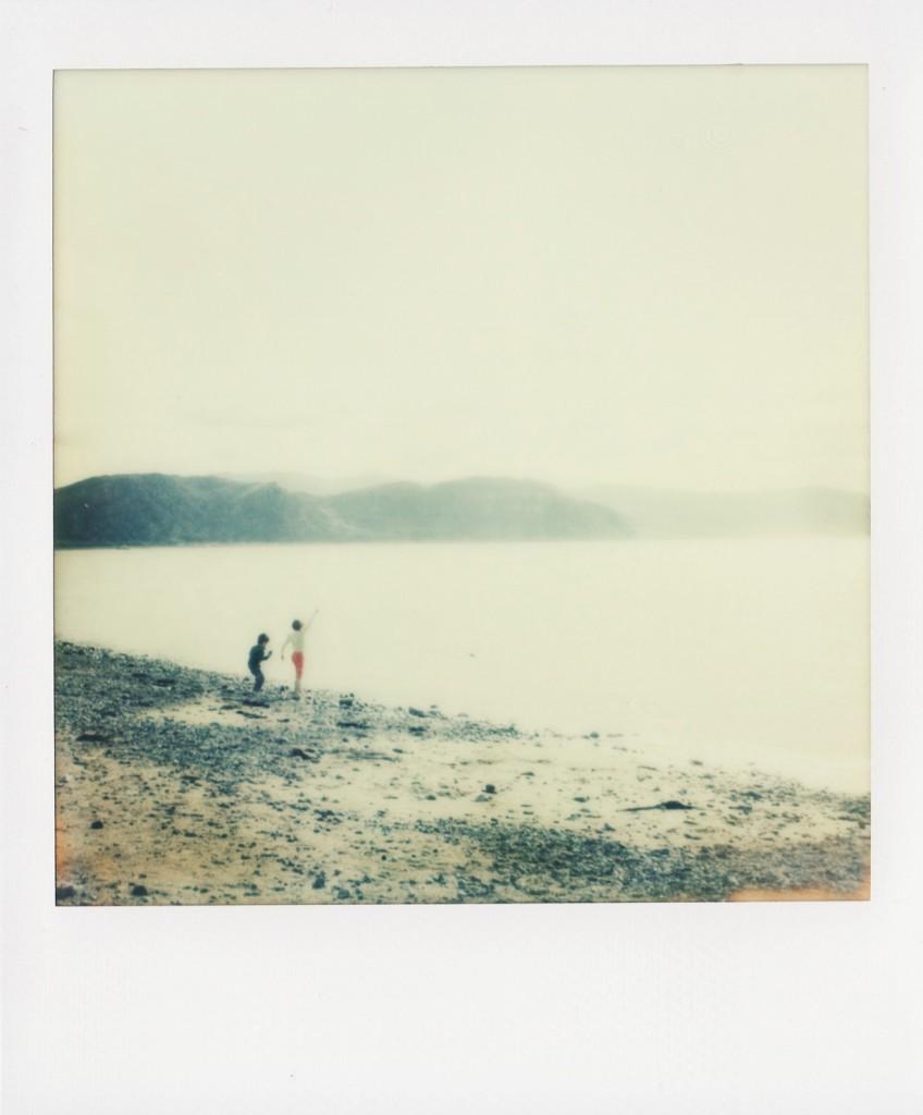 Polaroid image by Hilary Clarke