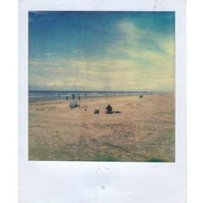 Пляжный отдых с Polaroid