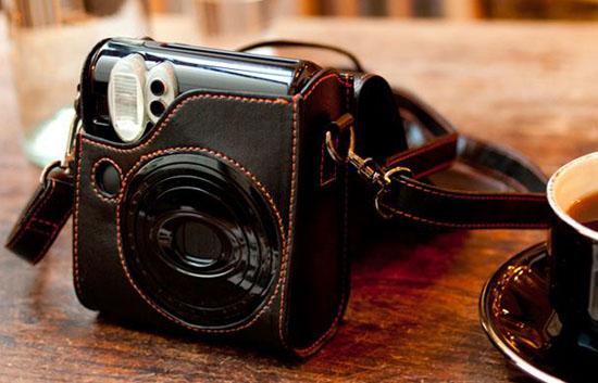 Сумка-чехол для камеры Fuji Instax 50S Piano Black.