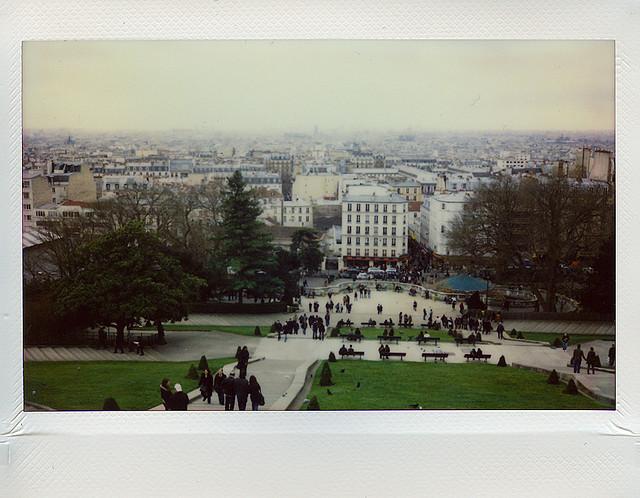 Париж. Монмартр на Fuji Instax 200