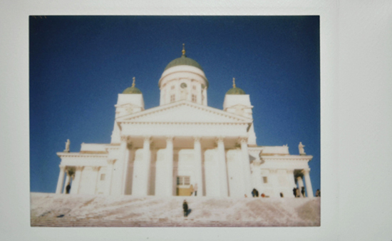 Финляндия instax 25. Кафедральный собор