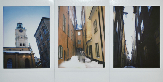 Fuji instax 25. Швеция. Старый город