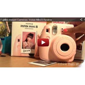 Instax mini 8 от Fujifilm. Видео