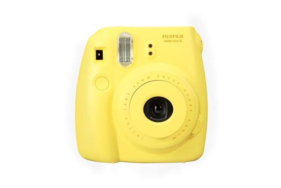 Fujifilm Instax 8. Цвет: желтый