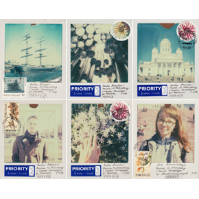 Polaroid postcards from Helsinki