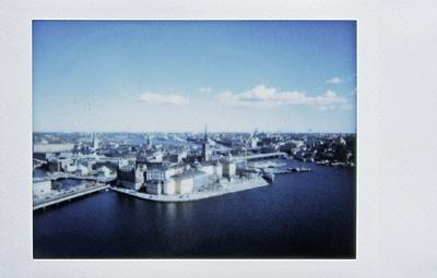 Стокгольм, старый город на Instax 25