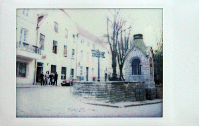 Улочки Таллина на Instax 25