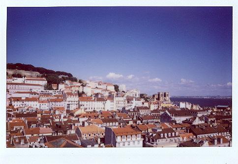Лиссабон на Instax 210