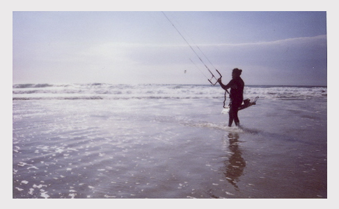 Пляж Гуинчо на Instax 210