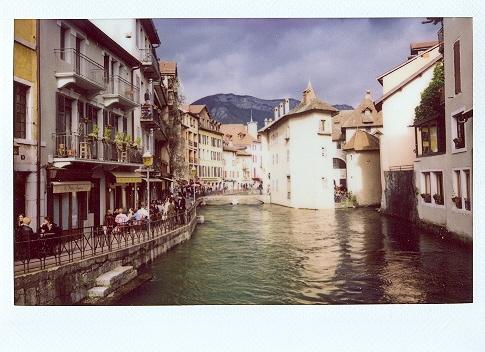 Франция на Instax 210