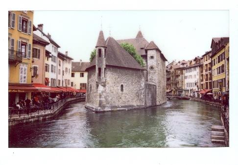 Франция. Анси на Instax 210