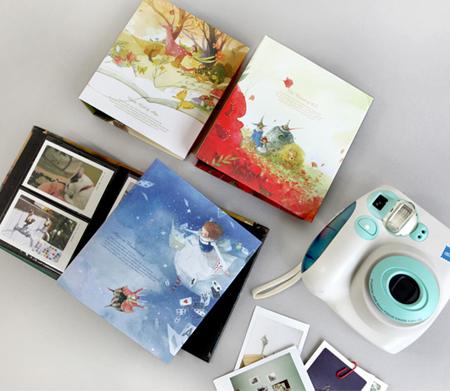 Альбомы для фотографий инстакс мини