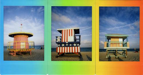 Fuji Instax Rainbow Mini film
