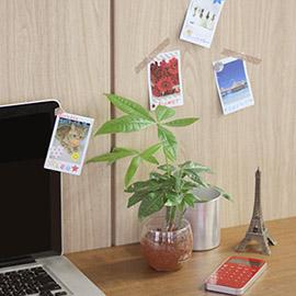 Украшение рабочего стола снимками Instax