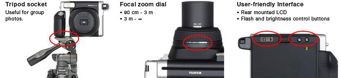 Fujifilm Instax Wide 300 отичительные особенности
