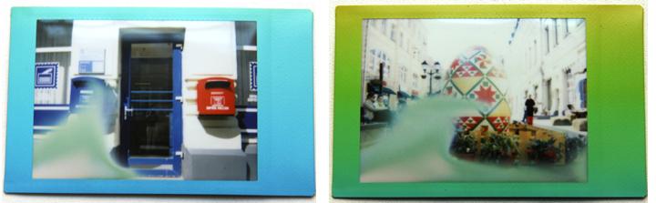 Засвет плёнки при фотографировании на Fuji Instax Mini 8