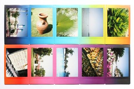 Fujifilm Instax Mini 8 картридж Rainbow