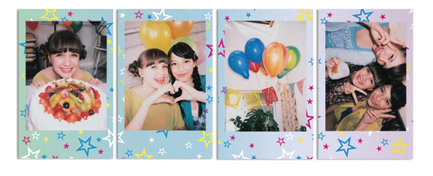Картриджи для Instax Mini 8 Shiny Star