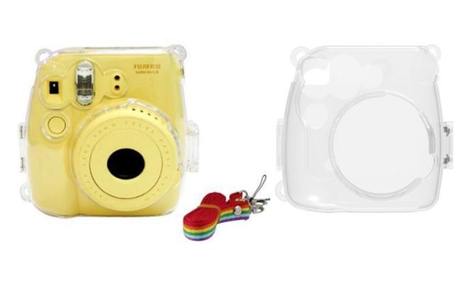 Кейс для Fujifilm Instax Mini 8 прозрачный