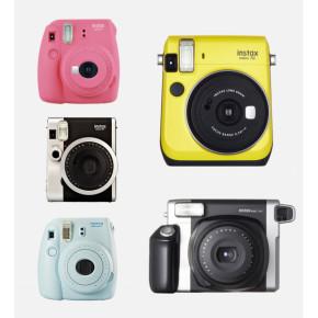 Обзор фотоаппаратов моментальной печати Fujifilm Instax 70, Mini 8/9, 25, Hello Kitty, 90 и 210