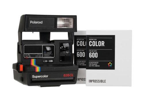 Polaroid 636 и кассеты