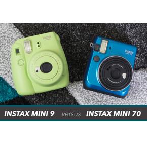 Fujifilm Instax Mini 9 VS Mini 70 – найди 8 отличий